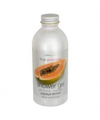Greenland Shower Gel Papaya - Lemon 600 ml
