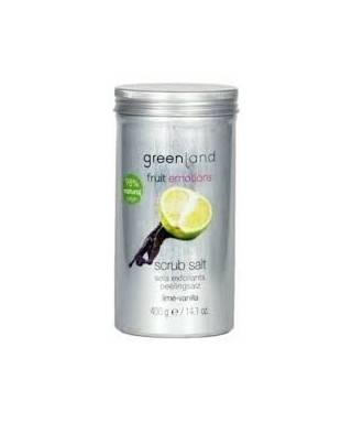 Greenland Scrub Salt Lime - Vanilla 400 gr