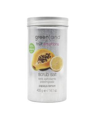 Greenland Scrub Salt Papaya - Limon 400 gr
