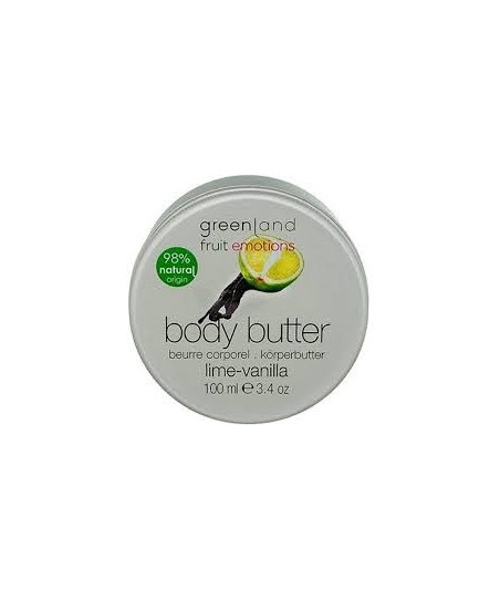 Greenland Body Butter Lime - Vanilla 100 ml