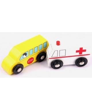 Pharma Toys School Car Set