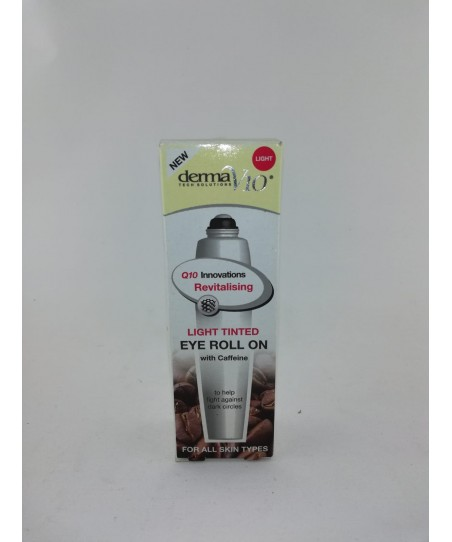 DERMAV10 INNOVATIONS TINTED EYE ROLL ON LIGHT 15ML