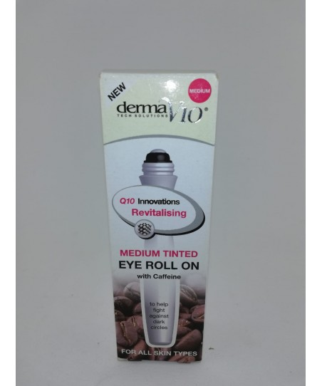 DERMAV10 INNOVATIONS TINTED EYE ROLL ON MEDİUM 15ML