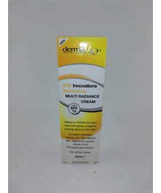 Derma V10 Innovations Moisturizing Multi Radiance Cream spf15 30ml