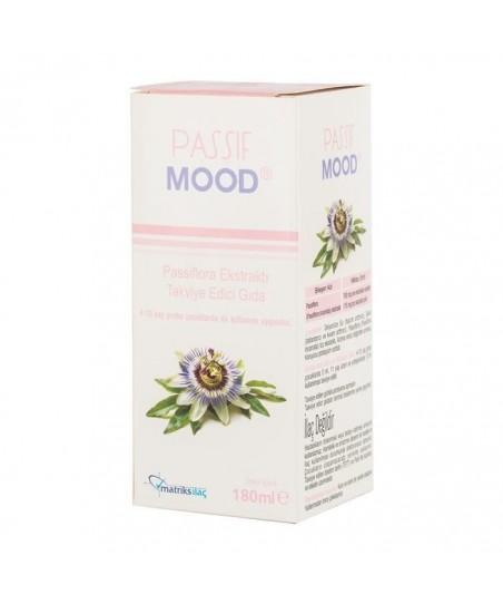 Passif Mood Şurup Passiflora Ekstraktı Takviye Edici Gıda 180ml