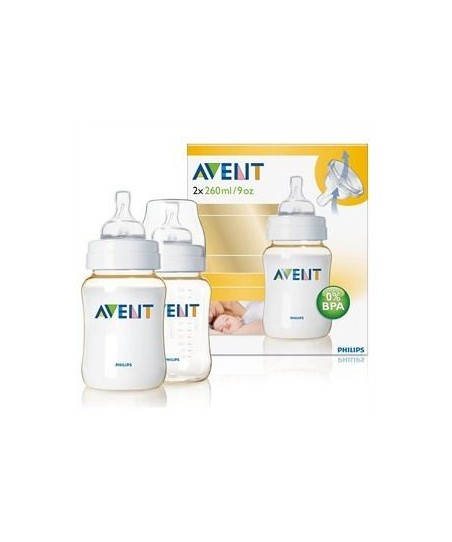 Philips Avent Biberon 260ml (PES) 2'li %0 BPA
