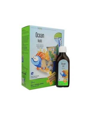 Ocean Bal & Portakal Aromalı Multi Şurup 150 ml - Maşa ile Koca Ayı Puzzle Hediyeli