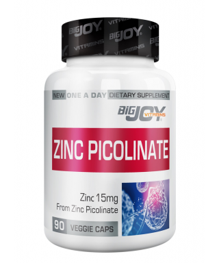 Big Joy Zinc Picolinate 90 Kapsül