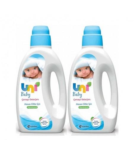 Uni Baby Bebek Çamaşır Deterjanı 1800 ml 2 Adet