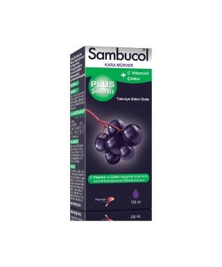 Sambucol Kara Mürver Plus Şekersiz 120ML