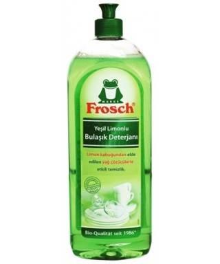 Frosch Yeşil Limon Bulaşık Deterjanı 750 ml