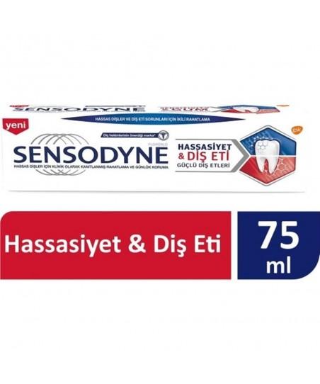 Sensodyne Hassasiyet & Diş Eti Diş Macunu 75 ml