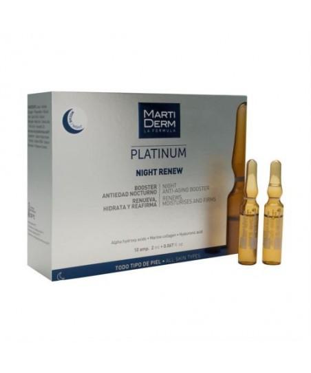 Martiderm Platinum Night Renew 10 Ampul 2 ml
