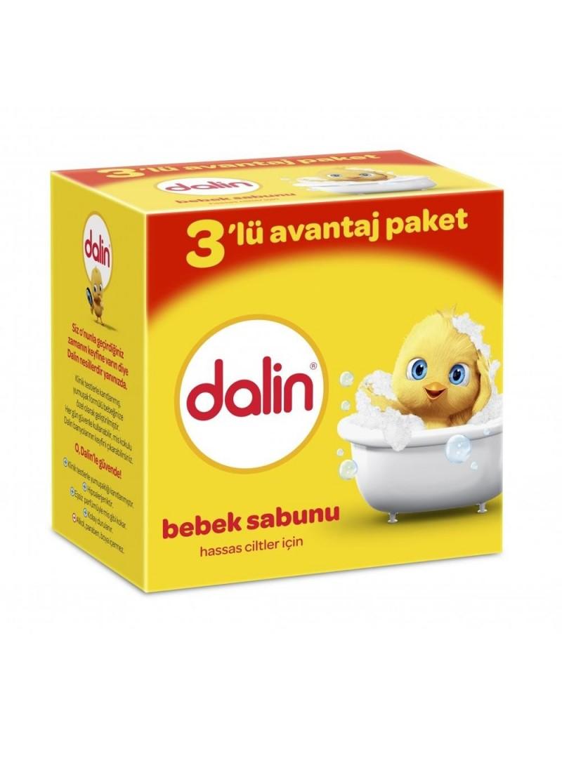 Dalin Bebek Sabunu 3'lü Avantajlı Paket