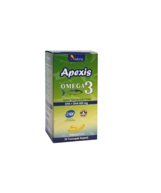 Apexis Omega-3 30 Kapsül