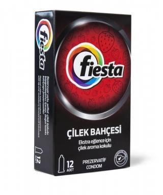 Fiesta Strawberry Prezervatif