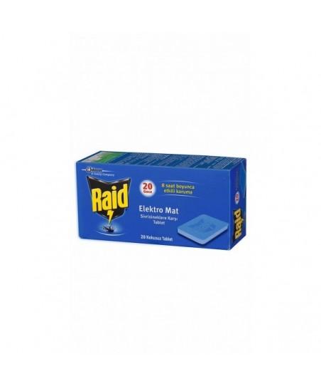 Raid Elektro Mat Tablet 20'li