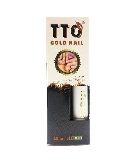 TTO Gold Nail Tırnak Solüsyonu 15 ml