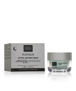 MartıDerm Platinum Gf Vital-Age Night Cream 50 ml