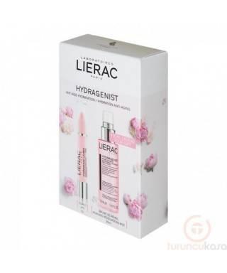 Lierac Hydragenist Pink Gloss Effect Lip Balm 3gr + Hydragenist Moisturizing Mist 30 ml