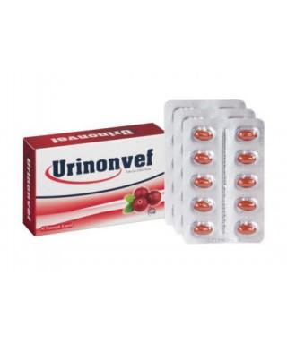 Urinonvef Cranberry 30 Kapsül