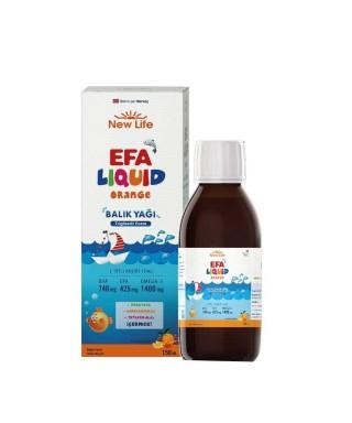 New Life EFA Liquid Orange...