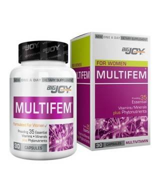 Bigjoy Vitamins For Women MultiFem 30 Kapsül
