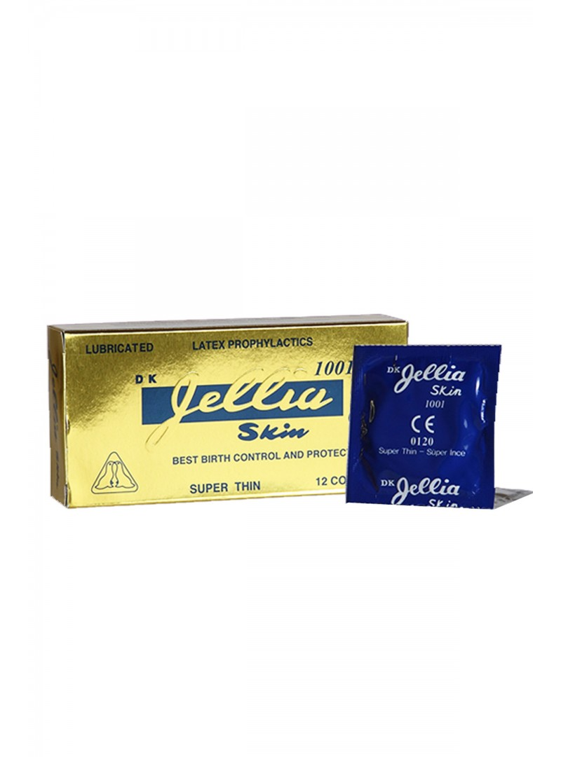 Jellia Skin Süper İnce Prezervatif