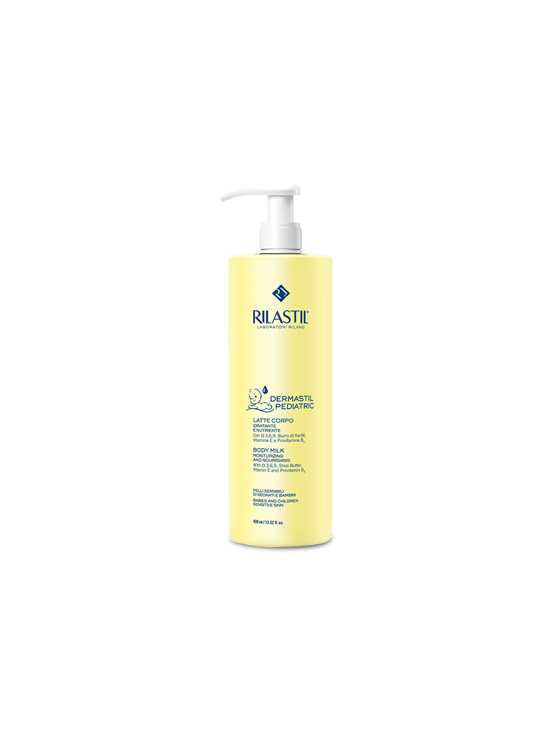 Rilastil Dermastil Pediatric Body Milk ( Nemlendirici Süt ) 400 ml