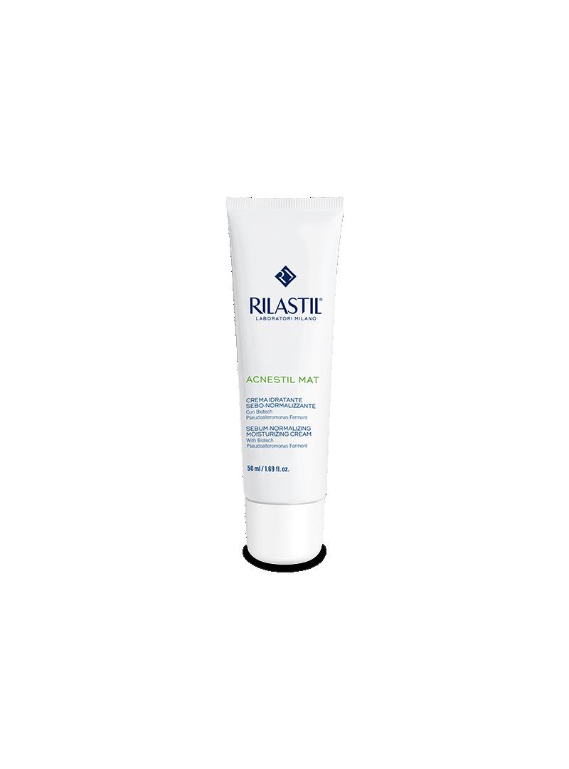 Rilastil Acstil Mat ( Matlaştırıcı ve Nemlendirici Krem ) 50 ml