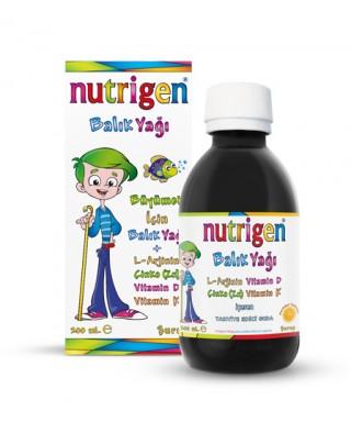 Nutrigen Çocuk Gelişim Şurupları ( Balık Yağı + Supra ) 400 ml