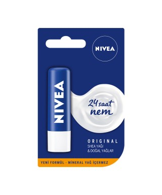 Nivea Lip Essential Care Dudak Bakım Kremi