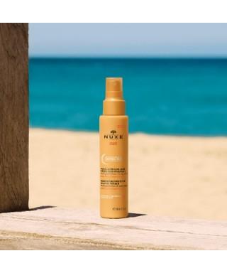 Nuxe Sun Huile Moisturising Protective Milky Oil 100 ml Nemlendirici ve Koruyucu Saç Bakım Yağı