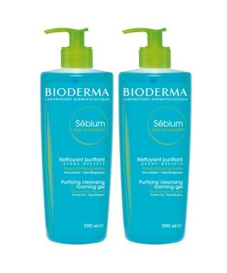 Bioderma Sebium Foaming Gel 500 ml 1+1