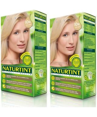 Naturtint Kalıcı Saç Boyası 10N Açık Sarı 165 ml 2 Adet