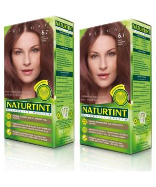 Naturtint Kalıcı Saç Boyası 6.7 Koyu Çikolata Sarı 165 ml 2 Adet