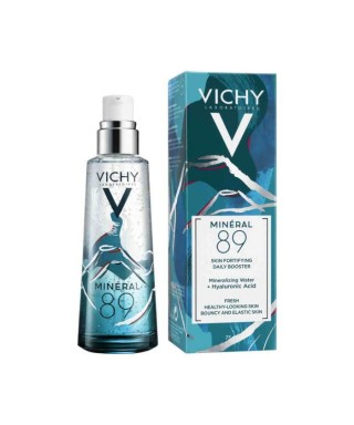 Vichy Mineral 89 Mineralizing Water + Hyaluronic Acid Serum 75 ml