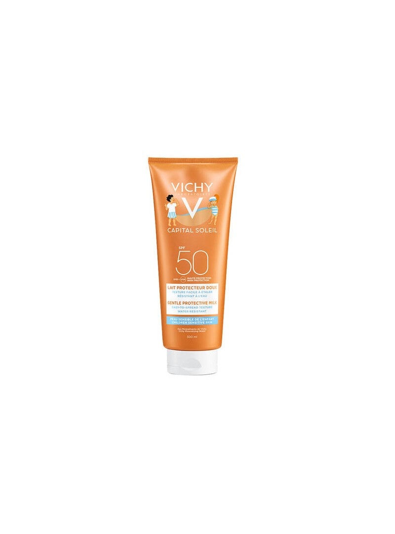Vichy Capital Soleil Spf 50+ Milk For Children Güneş Sütü 300 ml