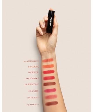 Sensilis Velvet Satin Comfort Lipstick Ruj 217 ( Cassis ) 3,5 ml