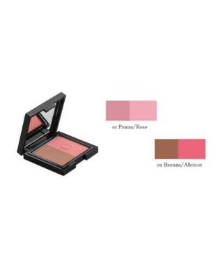 Sensilis Hydrablush Bi-Colour Moisturizing Blusher Naturel/Pembe Allık 01 ( Prune/Rose)
