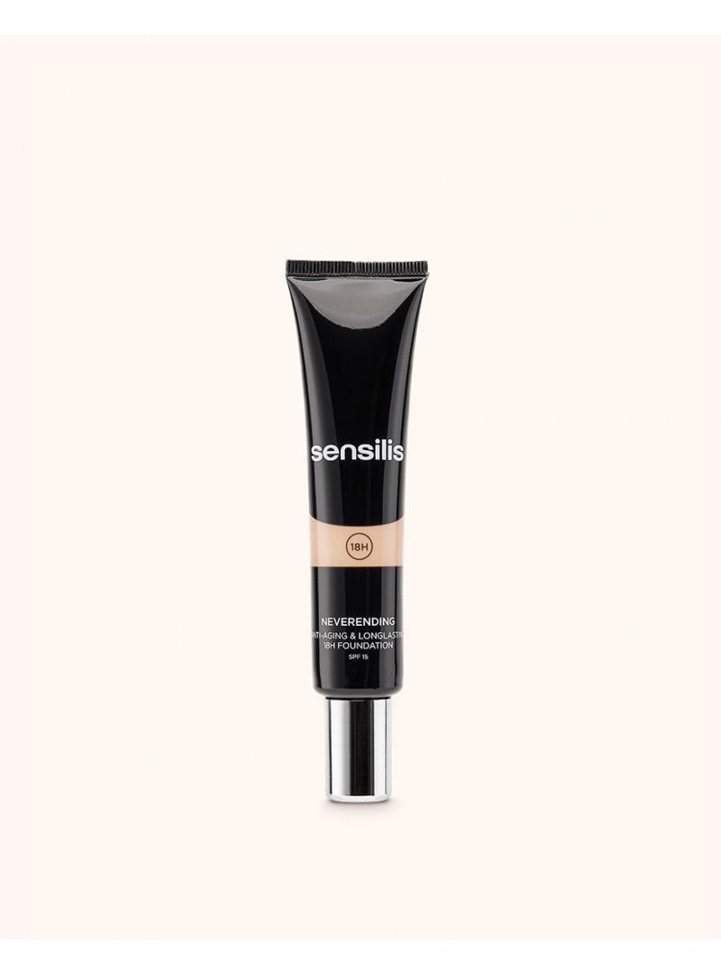 Sensilis Neverending Antiaging & Longlasting Fondöten Spf15 05 ( Gold ) 30 ml