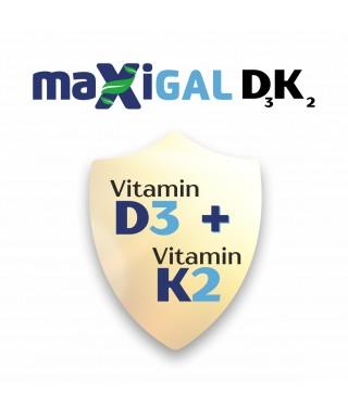Maxigal D3 + K2 Takviye Edici Gıda 20 ml