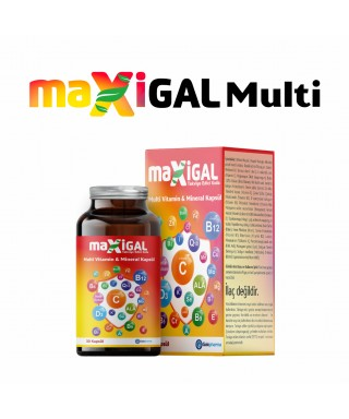 Maxigal Multivitamin Multimineral 30 Kapsül
