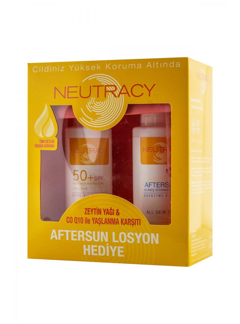 Neutracy Spf50+ Güneş Koruyucu Losyon 150 ml + Güneş Sonrası Losyon 150 ml