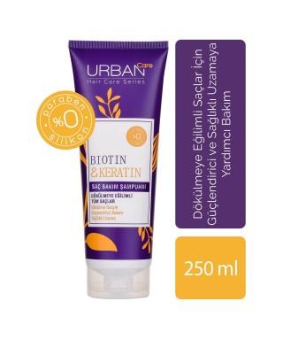 Urban Care Biotin & Keratin Dökülme Karşıtı Saç Bakım Şampuanı 250 ml