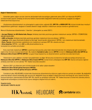 Heliocare Ultra 90 Gel Spf50 50 ml