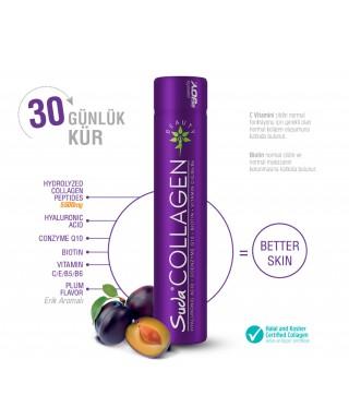 Suda Collagen Erik Aromalı Plum Flavor 40ml x30 Shot