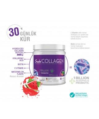 Suda Collagen + Probiyotik Karpuz Aromalı  Toz Kutu 300gr