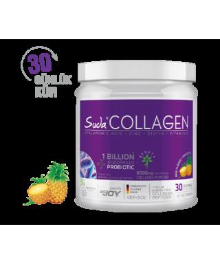 Suda Collagen + Probiyotik Ananas Aromalı Toz Kutu 300gr