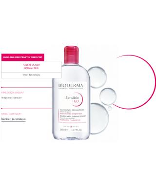Bioderma Sensibio H2O Yüz Ve Makyaj Temizleme Suyu 500 ml